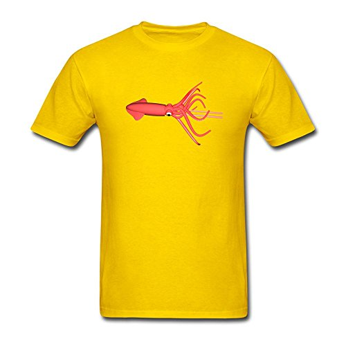 Fastty Men's Squid DIY Sleeve T ()