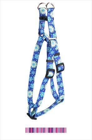 "UPC 844360026252, Purple and Pink Stripes Step-In Harness Size: Small (0.75"" x 9-15"")"