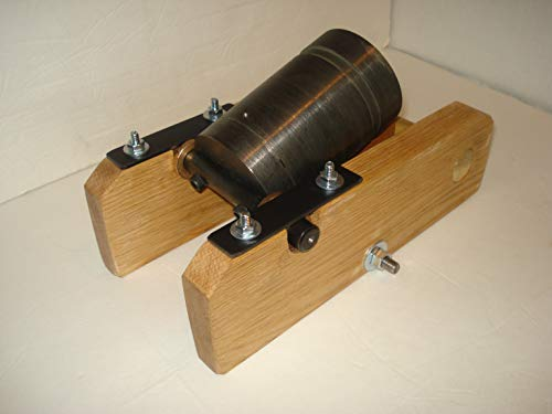 Golf Ball Mortar Cannon and Bed