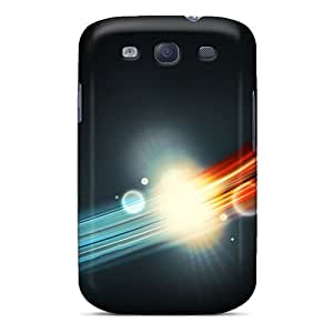 For Galaxy S3 Fashion Design Abstract 3d Cases-eQR11791BTMN