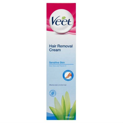 Veet Cream Hair Removal Sensitive Skin 200ml Case of 6
