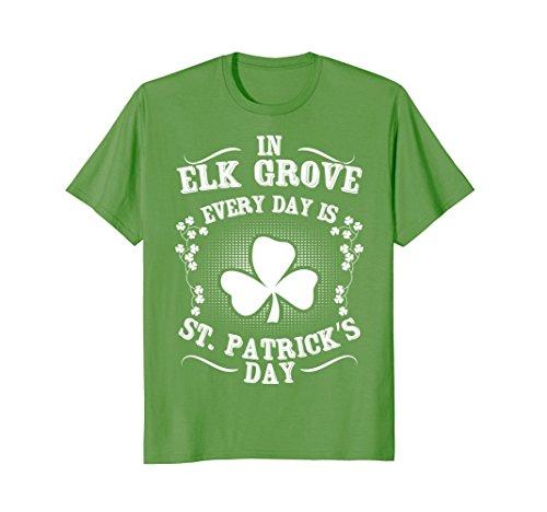 Elk Grove St  Patricks Day Irish Shamrock T Shirt