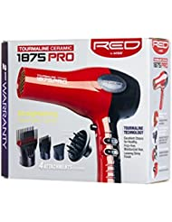 Red by Kiss 1875 Pro Watt Ceramic Tourmaline Hair Dryer...