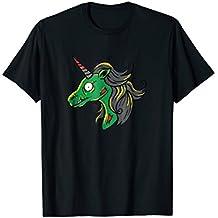 Zombiecorn T-Shirt Magical Evil Zombie Unicorn Halloween Tee