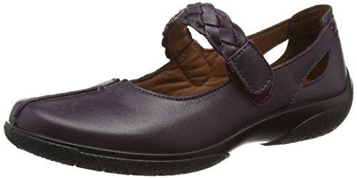 Hotter Shake, Zapatos Mary Jane para Mujer Púrpura (Plum)