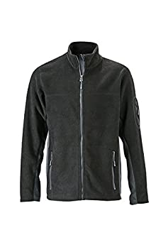 James /& Nicholson Workwear Fleece Jacket Chaqueta Hombre
