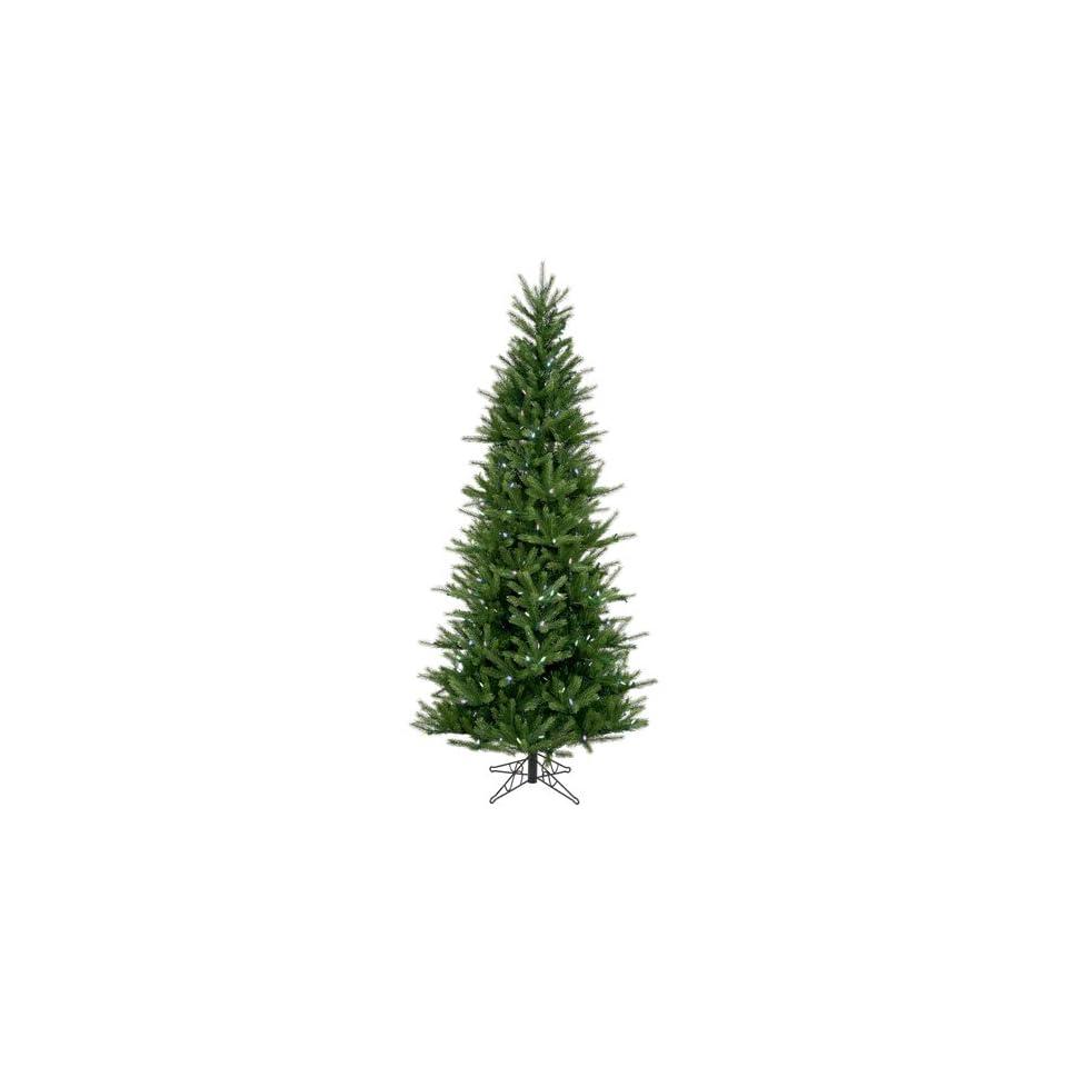9 Pre lit Tiffany Spruce Slim Artificial Christmas Tree