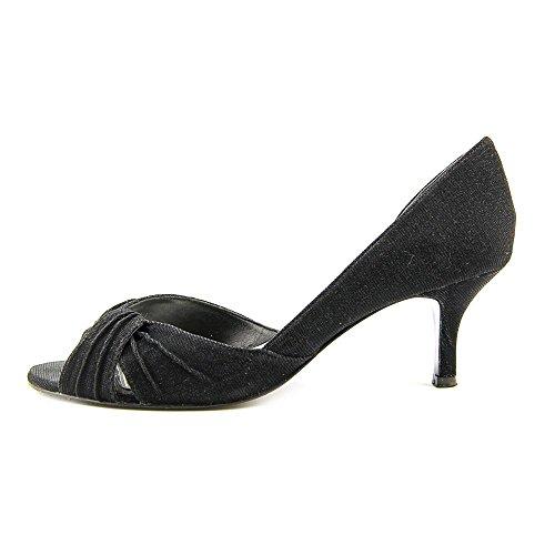 Nina Pump GM Carrie Women's Bella Dress Black Shine AzA68q