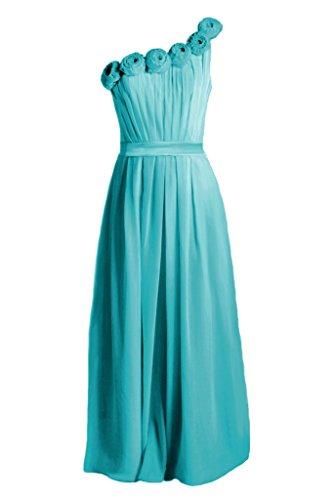 Party BM239L 44 Cyan Fabulous Chiffon Bridesmaid Dress Long DaisyFormals Dress 1x808