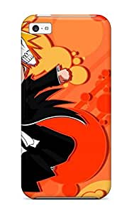 Flexible Tpu Back Case Cover For Iphone 5c - Anime Bleachs