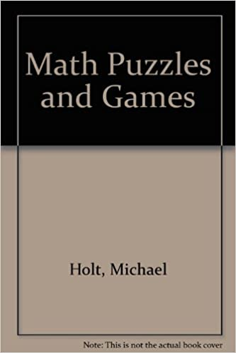 Math Puzzles And Games Michael Holt 9780802705457 Amazon