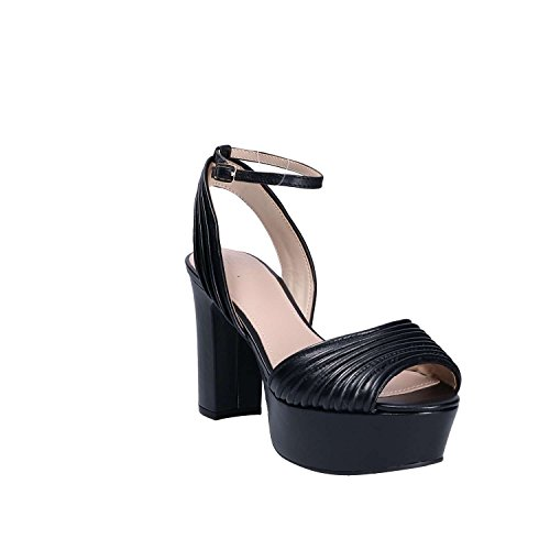 Guess Women's Footwear Dress Sandal Platform Heels, Black Black