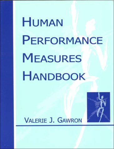 Human Performance, Workload, and Situational Awareness Measures Handbook, First Edition