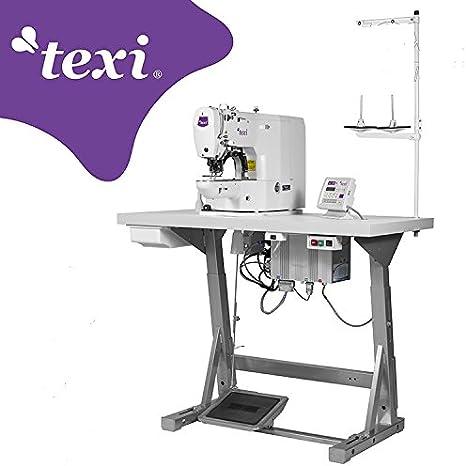 texi Cerrojo la Industria Máquina de Coser–electrónico–de la Industria de Coser industriales–Completo (con Mesa y Estructura)