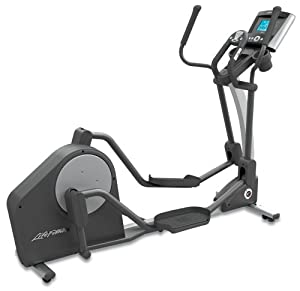 life fitness x3 elliptical cross trainer with advanced workout console life. Black Bedroom Furniture Sets. Home Design Ideas