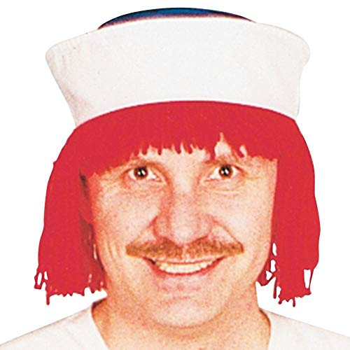 RAGGEDY ANDY WIG WITH HAT]()