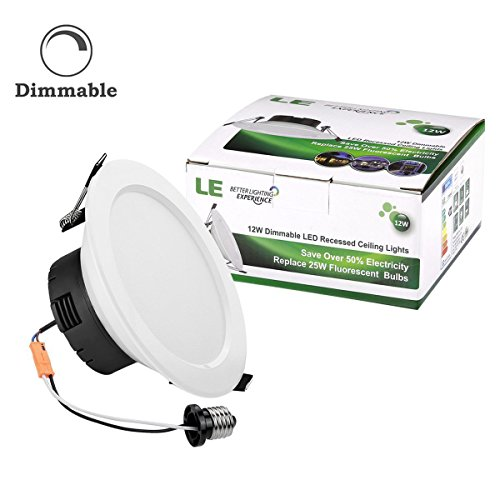 best le 12w dimmable 4 inch led retrofit recessed lighting 60w