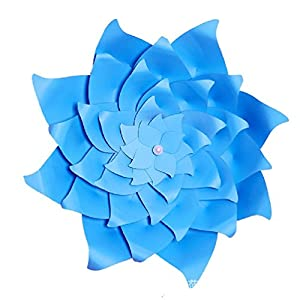 Giant Artificial Paper Flower Backdrop Wall Large Paper Head Photography Props 62