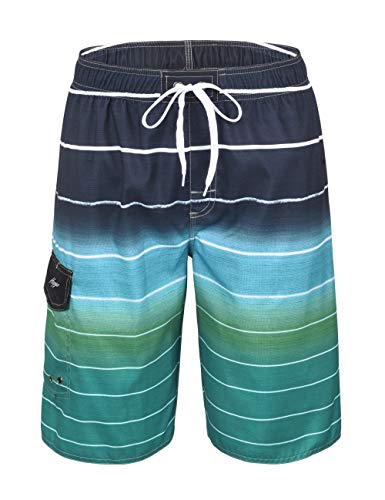 18c2d61a81 SHEKINI Mens Swim Trunks Beach Surf Shorts Without Mesh Lining Casual  Summer Boardshort Swimwear Shorts & Trunks