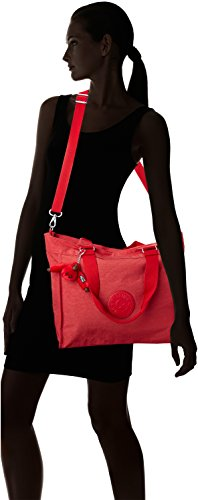 body L New Kipling Bag Shopper Red C Spicy Cross Female Red tCZxxqwX4