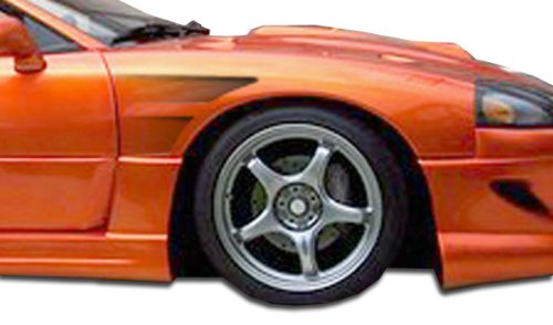 Duraflex ED-LWO-044 GT Concept Fenders - 2 Piece Body Kit - Compatible For Mitsubishi 3000GT 1991-1999 ()