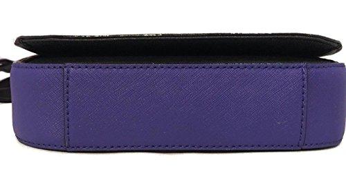 Black Large Bag Laurel Carsen Glitter Way Purple Kate Crossbody Spade 8Pw7qPg