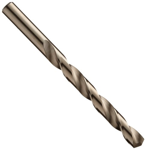 Chicago Latrobe 550 Series Cobalt Steel Jobber Length Drill Bit Set with Metal Case, Gold Oxide Finish, 135 Degree Split Point, Inch, 29-piece, 1/16'' - 1/2'' in 1/64'' increments by Chicago Latrobe (Image #2)