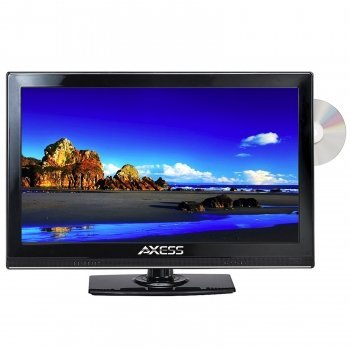 Axess 15.4 LED AC/DC TV with DVD Player Full HD with HDMI...