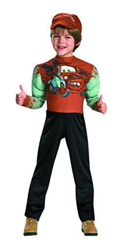 Tow Mater Classic Muscle Costume - X-Small (Different Spiderman Costumes)