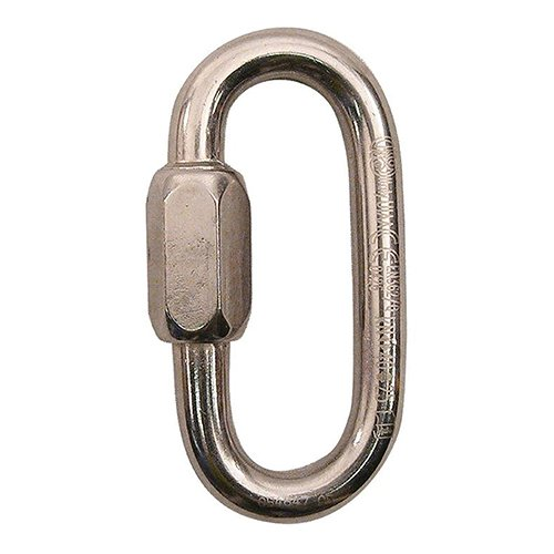 16 Quick Link - KONG Stainless Steel Oval Quick Links, 8 mm Chain Link Connectors (Pack of 3)