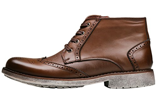 Men's Boots Modern Chukka Classic Brown2 SHENBO Znpaq1a