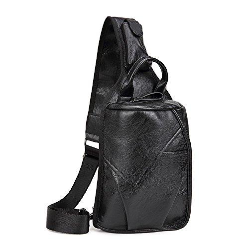 ivotre moda cubo bolsa suave piel sintética gran capacidad Cruz Cuerpo Bolsa marca nueva funcional hombro Sling Bag para hombres mujeres adolescentes niños