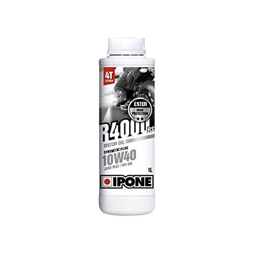 Ipone - Aceite Motor iPone R4000 4 tiempos 10 W40 - 1 litro: Amazon.es: Coche y moto