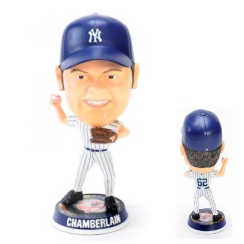 New York Yankees Joba Chamberlain 2009 Big Head Bobble - Joba Chamberlain Player