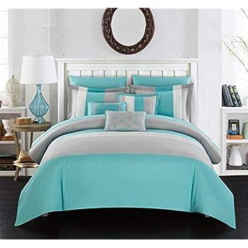 Amazon.com: Juego de cama de 10 piezas Chic Home ...