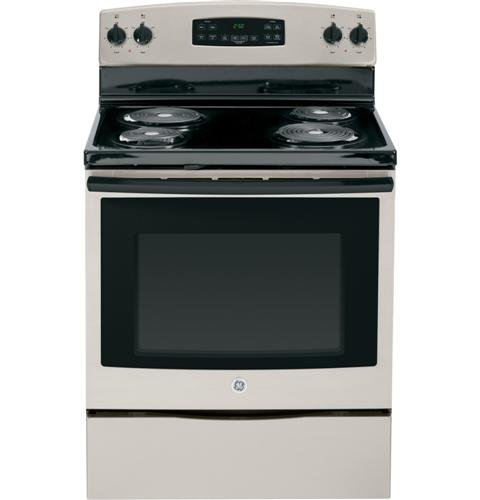 GE JB250GFSA 30″ Stainless Look Electric Coil Range