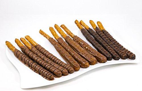 Chocolate Covered Pretzel Sticks