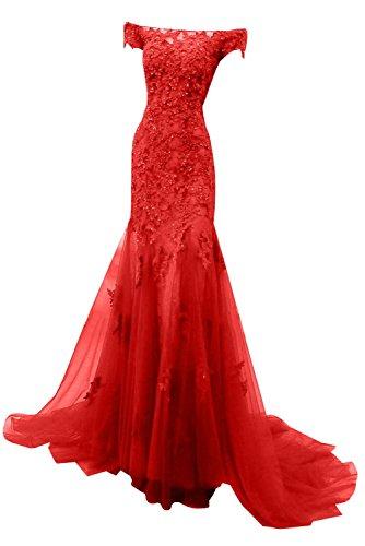 Partykleider Etuikleider Figurbetont Pailletten Charmant Abendkleider Spitze Hell Damen Glamour Rot Ballkleider Rot Kurzarm mit vwSPzgxq