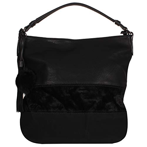 Misemiya 5x30x40 Bolso De negro Hombro X w Negro H Cm L Mano Mujer rSqXBr