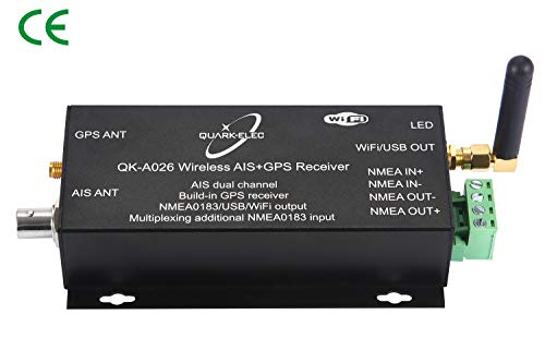 Quark-elec Wireless AIS Receiver with GPS and NMEA. (QK-A026)