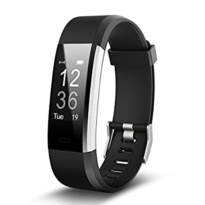 Torntisc Fitness Tracker Bluetooth Heart Rate Monitor Watch Pedometer Call Notification Push Bracelet