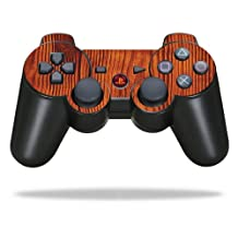 Protective Vinyl Skin Decal Cover for Sony PlayStation 3 PS3 Controller wrap sticker skins Knotty Wood