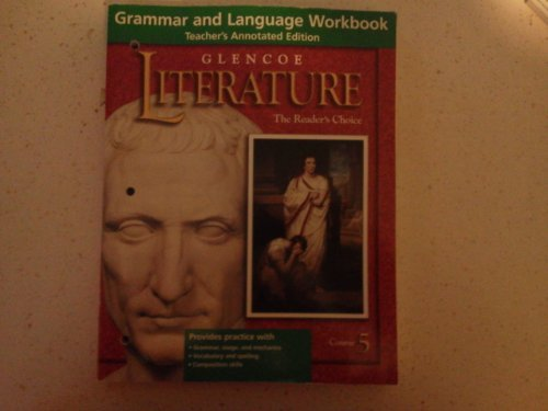 Glencoe Language Arts: Grammar and Language Workbook, Grade 10, Teacher's Annotated Edition