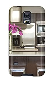 Durable Protector Case Cover With Modern Kitchen With Stainless Appliances Amp Floating Staircase With Cable Railing Hot Design For Galaxy S5