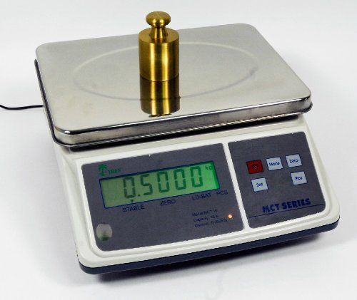 16lb x 0.0005lb Digital Parts Counting Scale – Mid Counting Scale with Check-weighing Function – Inventory Scale – Coin Counting Scale