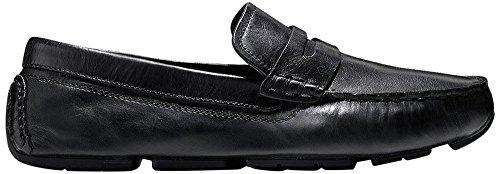 Cole Haan Men's Kelson Penny Loafer, Black, 11.5 M US