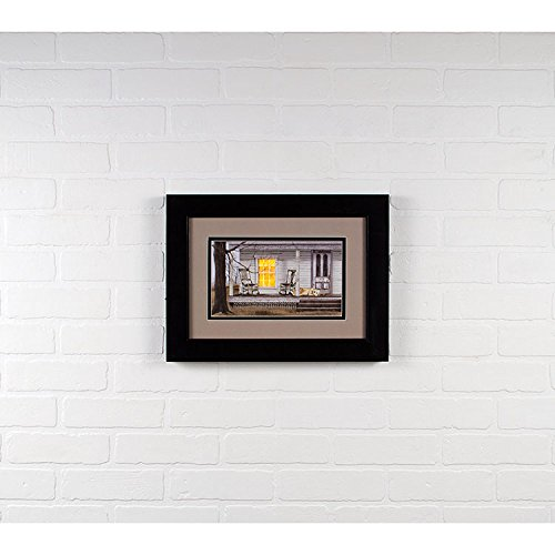 Canvas Prints Wall Art Lighted Long Wait with timer by Billy Jacobs Home Decor Wooden Framed Perfect Decoration for Bedroom Office over a fireplace or your dining room table Size: 12 X 36 X 1 Inch by Timeless by Design