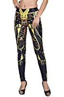 Sunnydate Women Fall 2015 New Fashion Variaty Colorful Printed Leggings