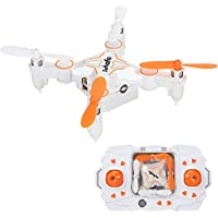 Zuhafa Z2h 2.4Ghz 6-Axis gyro Nano Quadcopter with Altitude Hold, 3D Flips and Headless Mode for Beginners(white)