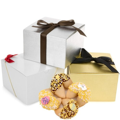 Easter Fortune Cookies Gift Box of 12